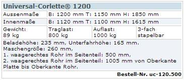 Universal-Corlette 1200