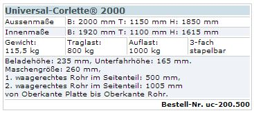 Universal-Corlette 2000