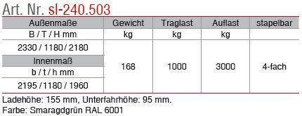 sl-240.503 Beschrieb
