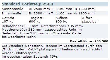 Standrard-Corlette 2500